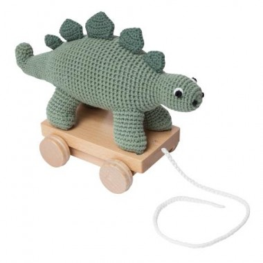 Dinosaure à roulettes