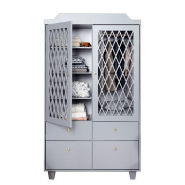Armoire Harlequin Camcam- Gris