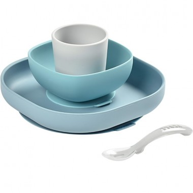 SET VAISSELLE SILICONE JUNGLE