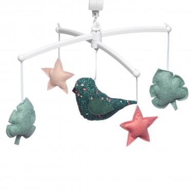 Mobile musical oiseau folk...