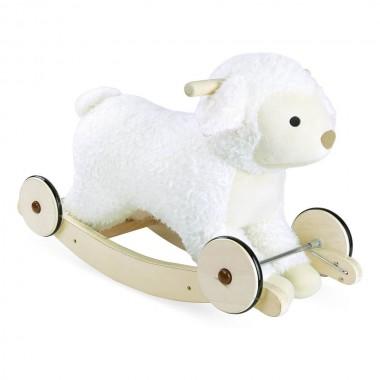 Mouton à bascule 2-en-1