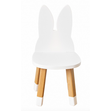 Mini chaise lapin blanc...