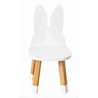 Mini chaise lapin blanc...
