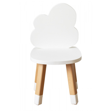Mini chaise nuage blanc...