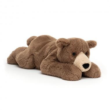 Woody bear Lying