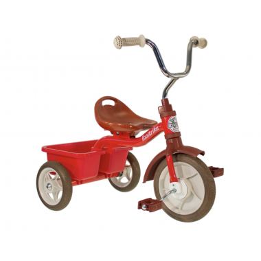Tricycle transporteur - Rouge