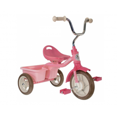Tricycle transporteur - Rose