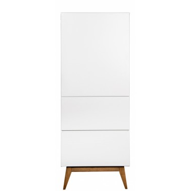 Armoire 1 porte Trendy - Blanc