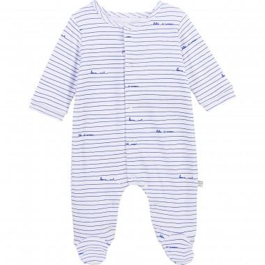 Pyjama rayé  - coton...