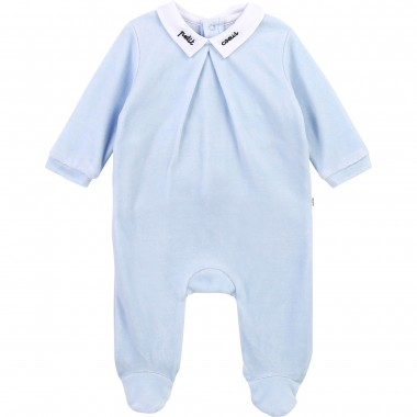 Pyjama velours ciel