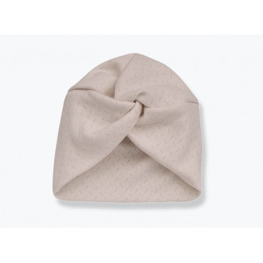 Bonnet Mia Nude - 0/6 mois
