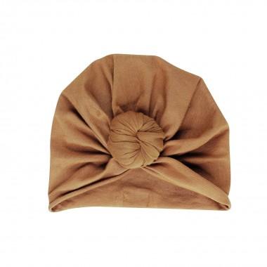 Bonnet turban en coton bio...