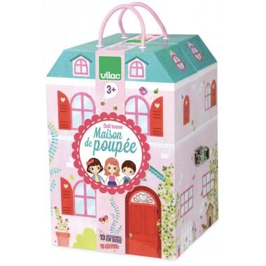 Maison de poupée en valise