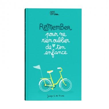 Cahier Remember ton enfance...