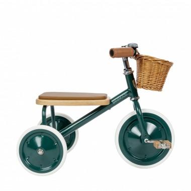 Tricycle en métal et bois...