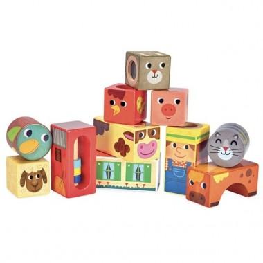 Cubes sonores de la ferme