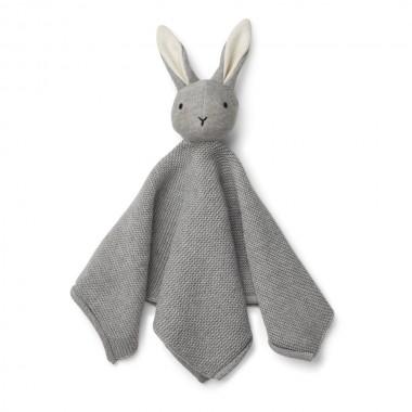 Doudou lapin Milo en coton...
