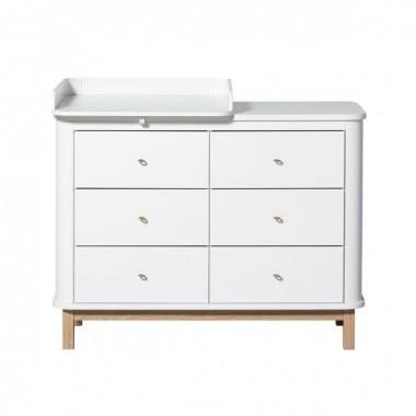 Commode Wood 6 tiroirs...