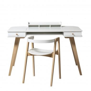 Bureau Wood 66 cm avec chaise