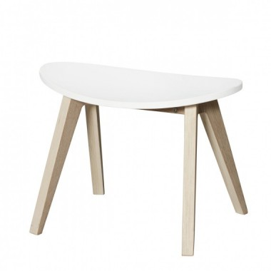 Tabouret Ping Pong Blanc /...
