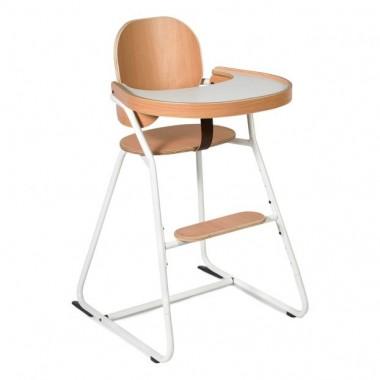 Chaise haute Tibu blanche...